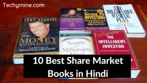 10 Best Share Market Books in Hindi